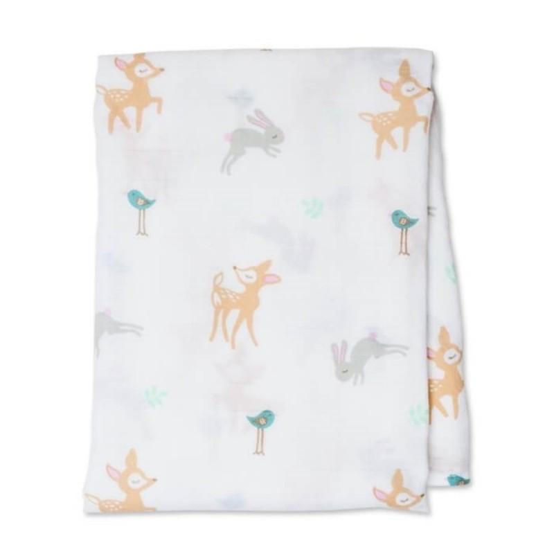 Lulujo - Cotton Muslin Swaddle Swaddle Blanket