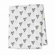 Lulujo - Bamboo Muslin Swaddle Blanket Modern
