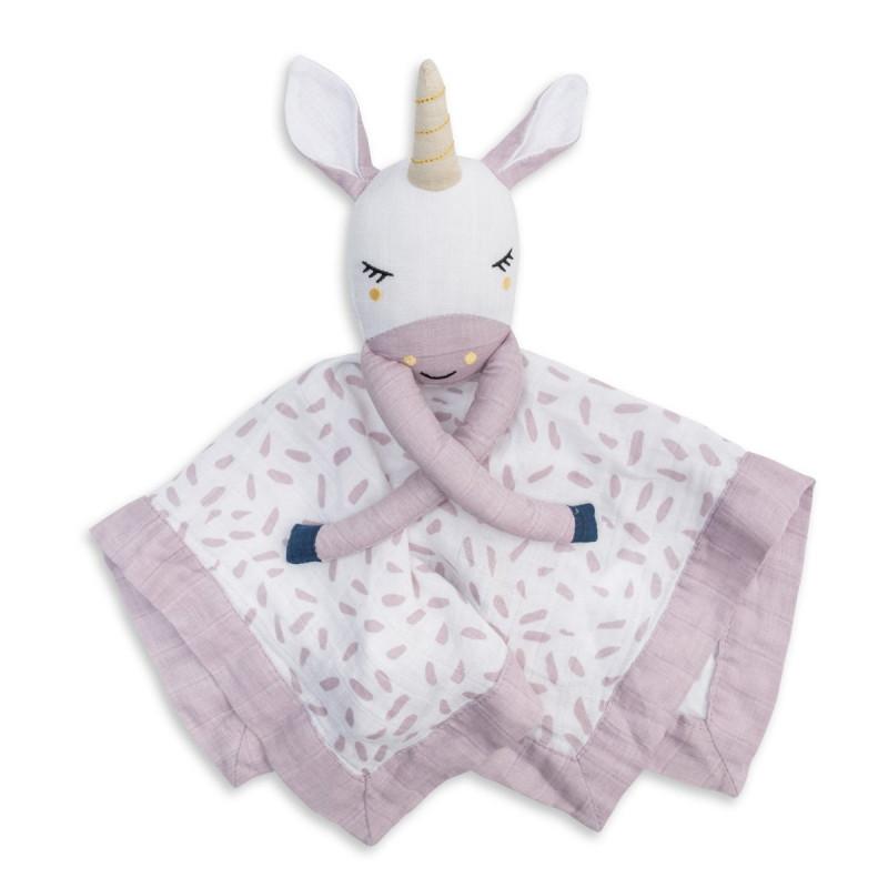Lulujo - Lovie Muslin Cotton - Unicorn