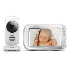 Motorola - Écran de surveillance vidéo numérique pour bébés (5 pouces)