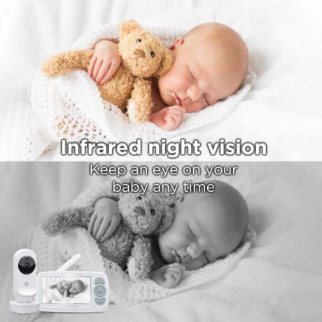 "Motorola - EASE 34 Video Baby Monitor - 4,3"""