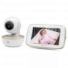 """Motorola - WiFi Dual Mode Baby Monitor 5"""" Screen"""