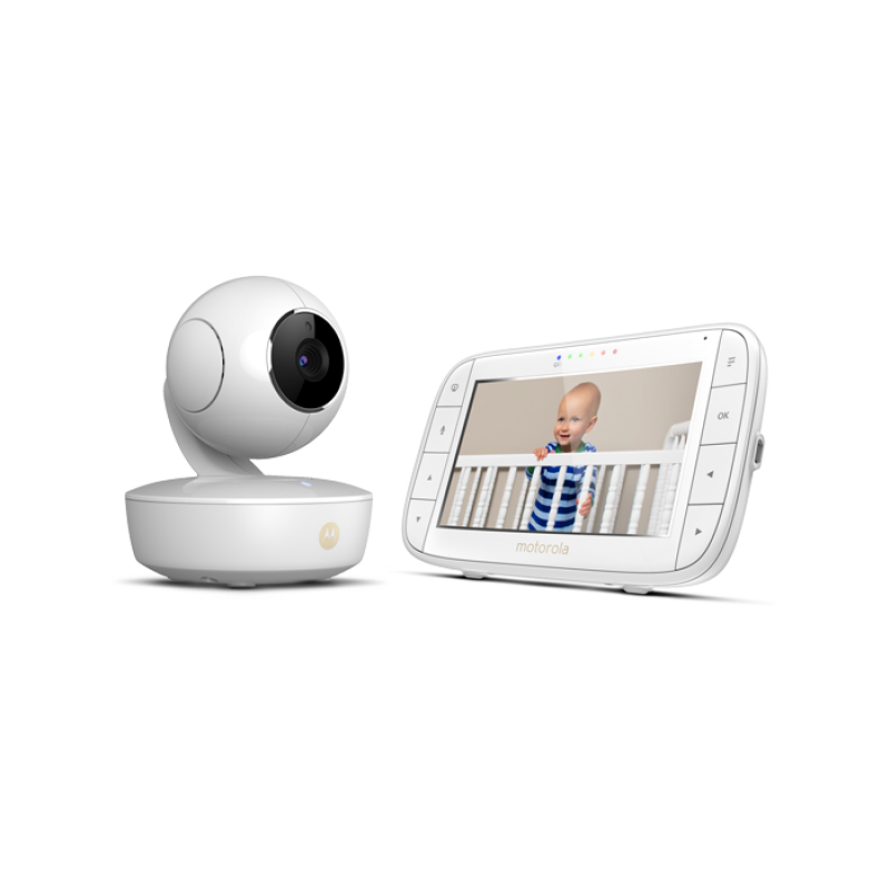 Motorola - Portable Video Baby Monitor with WiFi 5''