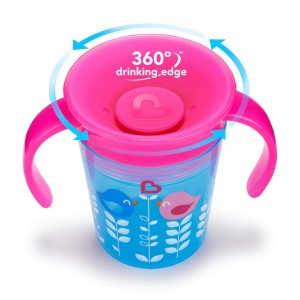 Munchkin - Miracle® 360° Deco Trainer Cup - 6oz
