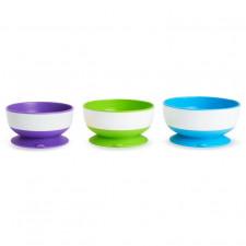 Munchkin - Stay Put - 3 Suction Bowls