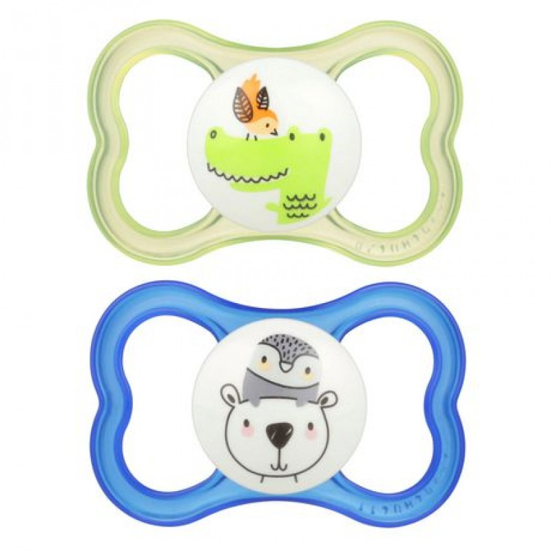 MAM - Air Silicone Pacifiers 6m+ (Assorted)