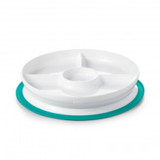 OXO TOT - Stick & Stay Suction Divided Plate