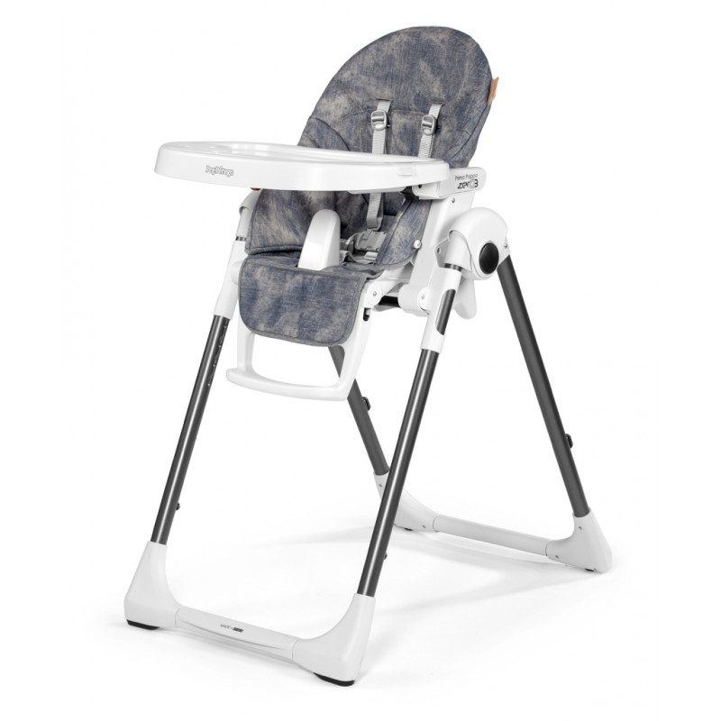 Peg Perego - High Chair Prima Pappa Zero3 - Denim