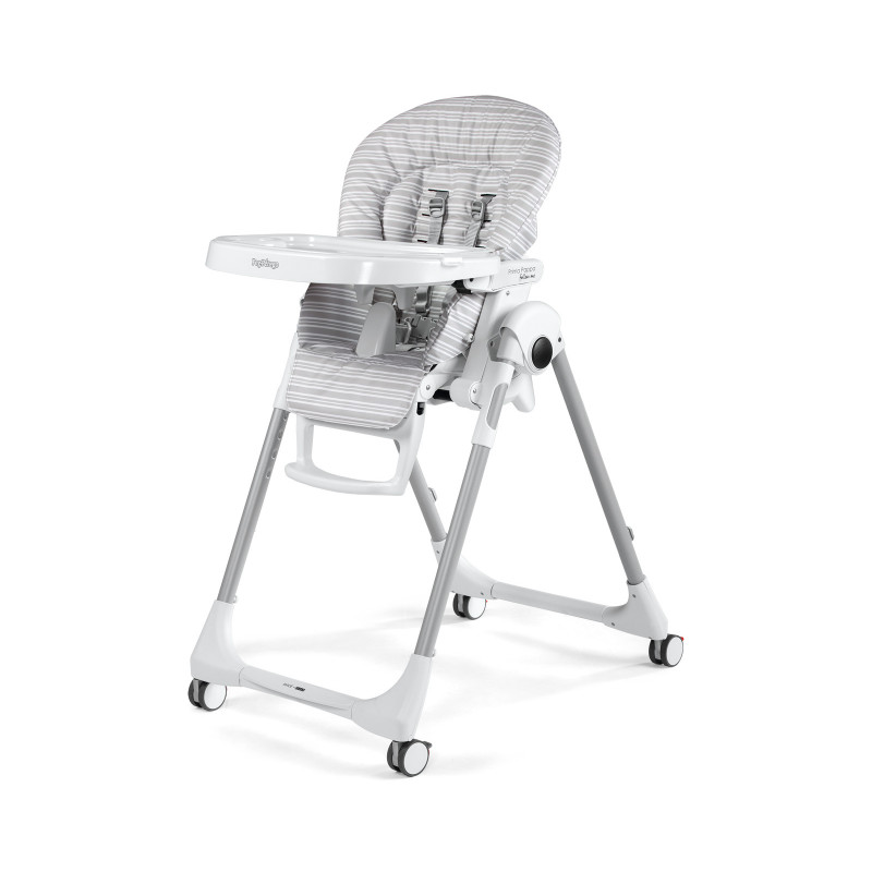 Peg Perego - High Chair Prima Pappa Zero3 - Linear Grey