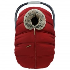 Petit Coulou - Winter Car Seat Cover - Red/Wolf