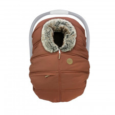 Petit Coulou - Winter Car Seat Cover - Sequoia/Wolf