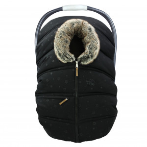 Petit Coulou - Winter Car Seat Cover - Celestial/Wolf