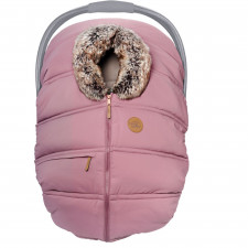 Petit Coulou - Winter Car Seat Cover - Sorbet/Wolf