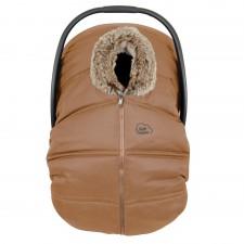 Petit Coulou - Winter Car Seat Cover - Cognac