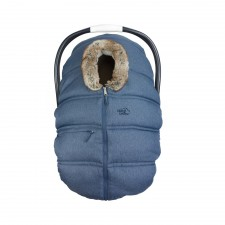 Petit Coulou - Housse d'hiver pour siège d'auto - Jeans