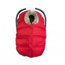 Petit Coulou - Winter Car Seat Cover - Red