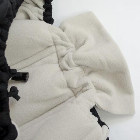 Petit Coulou - Housse d'hiver pour siège d'auto - Noir/Brun