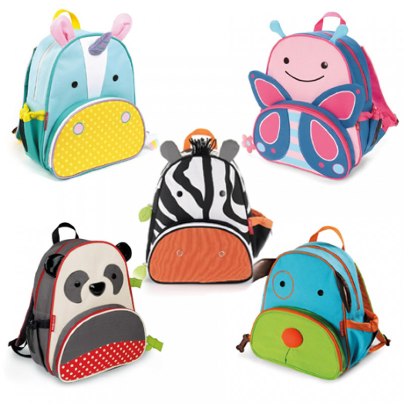 Skip Hop - Zoo Lunchies Insulated Lunch Bags