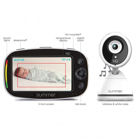 Summer Infant - Baby Pixel Zoom HD - 5.0 inch