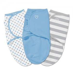 Summer Infant - SwaddleMe Cotton Petit 3pc - 0 à 3 mois
