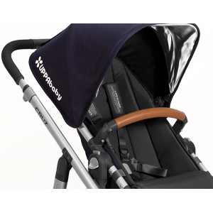 UPPAbaby - Leather Bumper Bar Cover (Saddle)