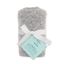 Aden + Anais - Snuggle Knit Large Swaddle Blanket - Heather Grey