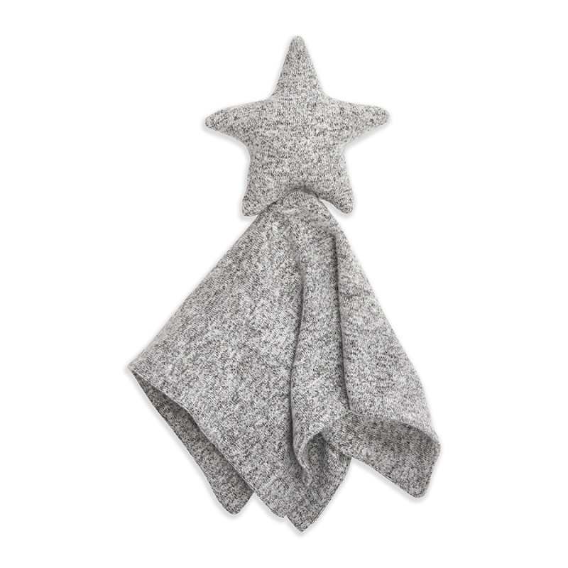 Aden + Anais - Snuggle Knit Lovey - Heather Grey