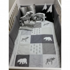 Carrément Bébé - Boreal Forest - 5 Pieces Bedding Set