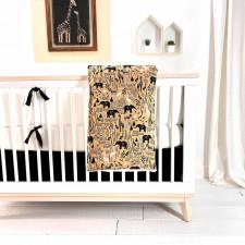 Carrément Bébé - Elephant Savana - 5 Pieces Bedding Set