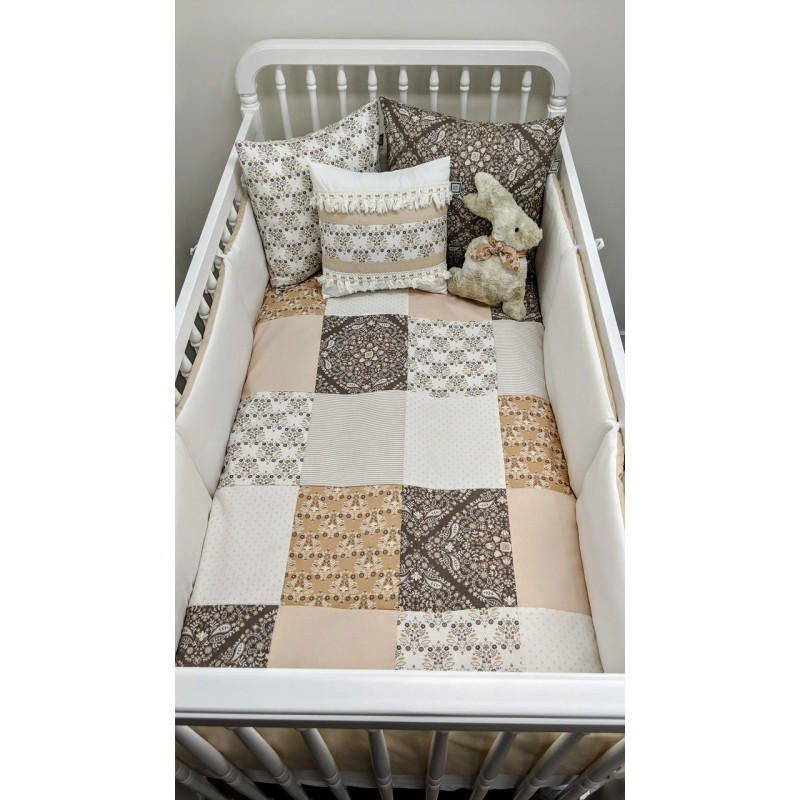Carrément Bébé - Anna - 5 Pieces Bedding Set
