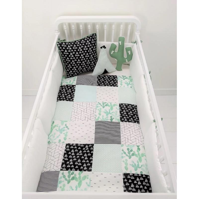 Carrément Bébé - Cactus - 5 Pieces Bedding Set