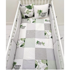 Carrément Bébé - Sloths - 5 Pieces Bedding Set