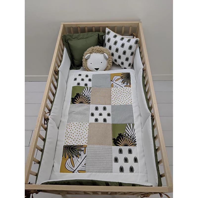 Carrément Bébé - Tropical - 5 Pieces Bedding Set