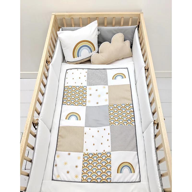 Carrément Bébé - Rainbow - 5 Pieces Bedding Set
