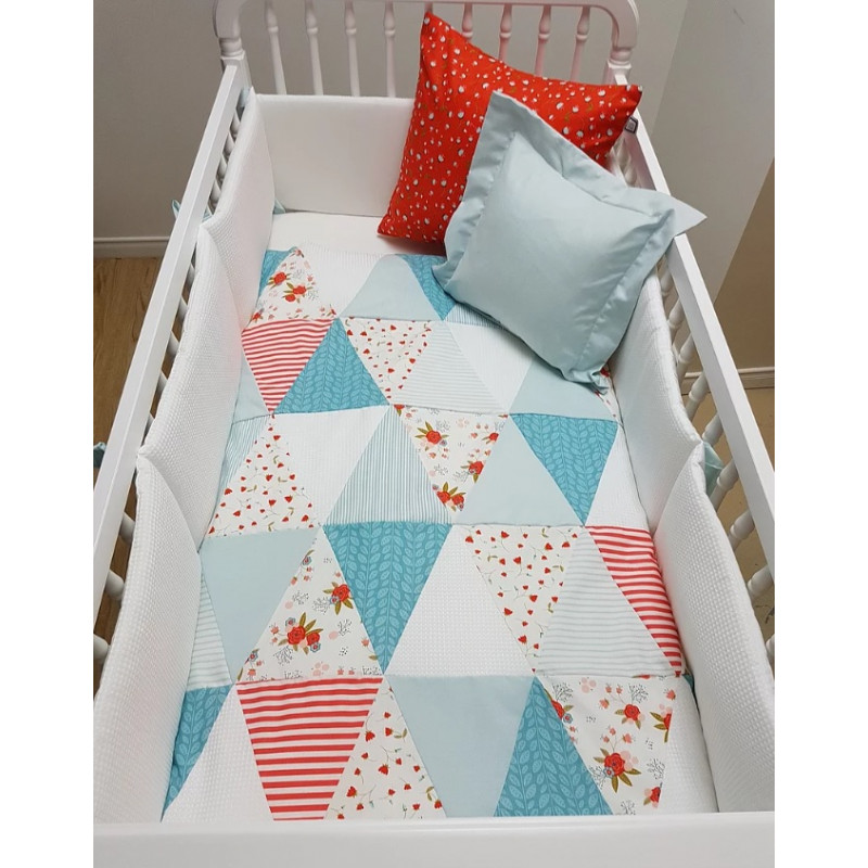 Carrément Bébé - Béatrice - 4 Pieces Bedding Set
