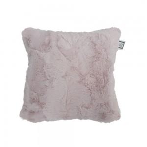 Carrément Bébé - Rose - Coussin décoratif - Coussin Fourrure