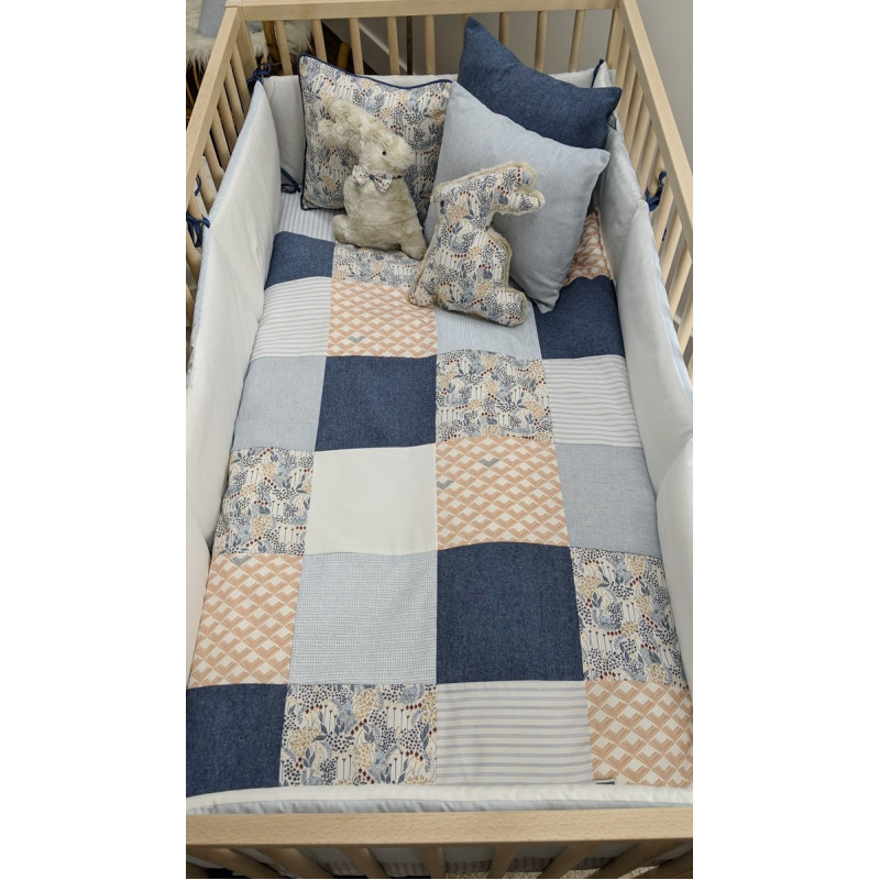 Carrément Bébé - Robin - 5 Pieces Bedding Set