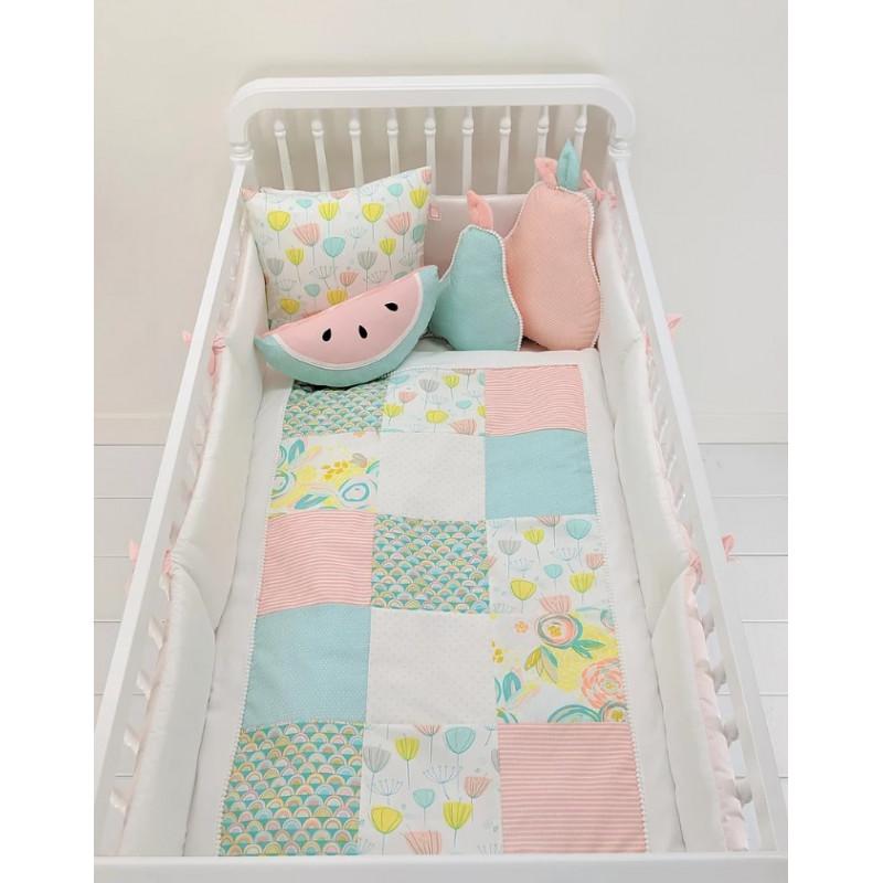 Carrément Bébé - Stella - 5 Pieces Bedding Set
