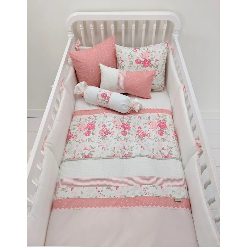 La Libellule - Lili Rose - 5 Pieces Bedding Set