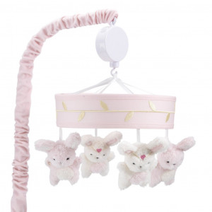 Lambs & Ivy - Musical Baby Crib Mobile - Confetti