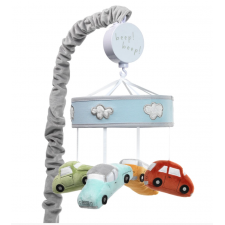 Lambs & Ivy - Musical Baby Crib Mobile - Baby Car Tunes