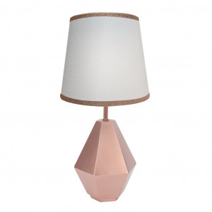 Lambs & Ivy - Rose Gold Hexagon Lamp