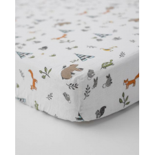 Little Unicorn - Cotton Muslin Crib Sheet - Forest Friends