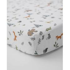 Little Unicorn - Cotton Muslin Crib Sheet - Forest Friends