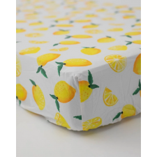 Little Unicorn - Cotton Percale Crib Sheet - Lemon