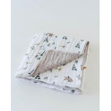 Little Unicorn - Cotton Muslin Quilt - Forest Friends