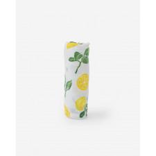 Little Unicorn - Cotton Muslin Swaddle - Lemon Drop