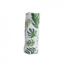 Little Unicorn - Cotton Muslin Swaddle Single - Tropical Leaf