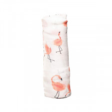 Little Unicorn - Deluxe Muslin Swaddle Single - Pink Ladies