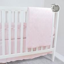 Perlimpinpin - Ensemble pour lit de bébé en bambou - 3 morceaux